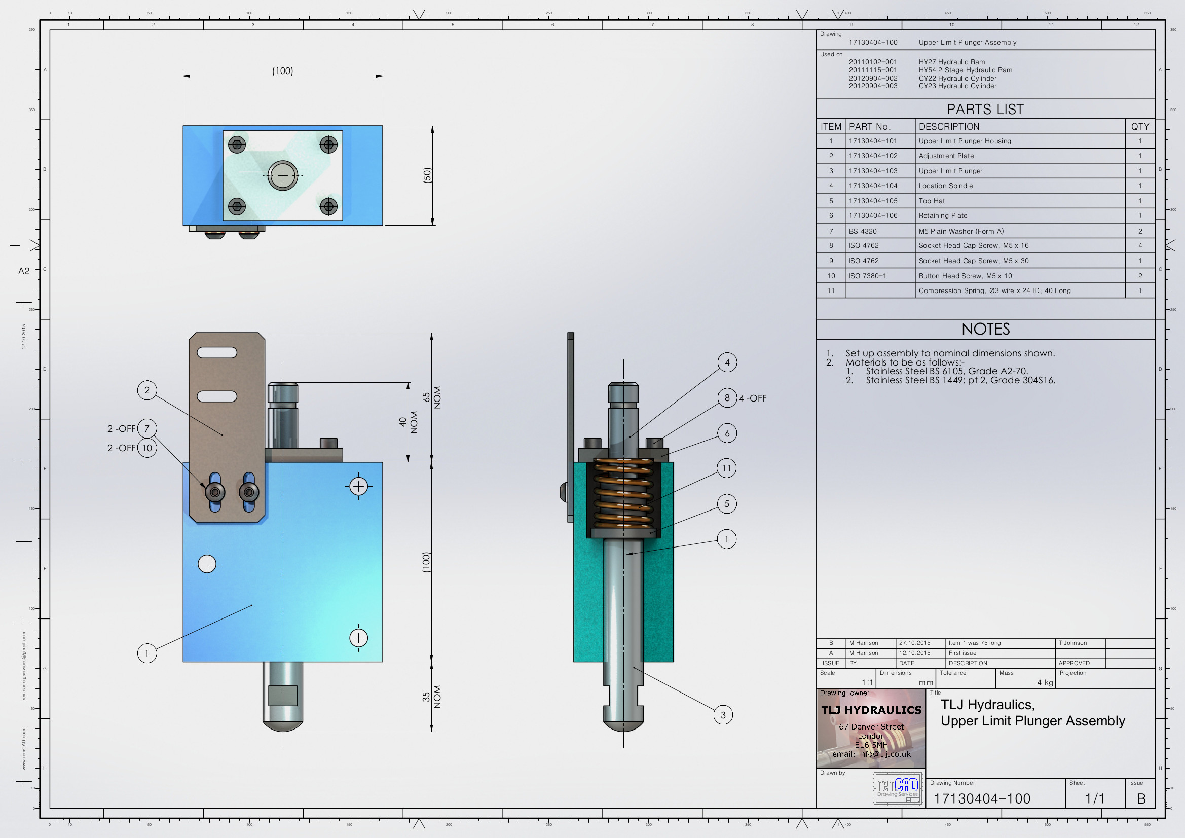 Outsourcing CAD Drawing Services by remCAD